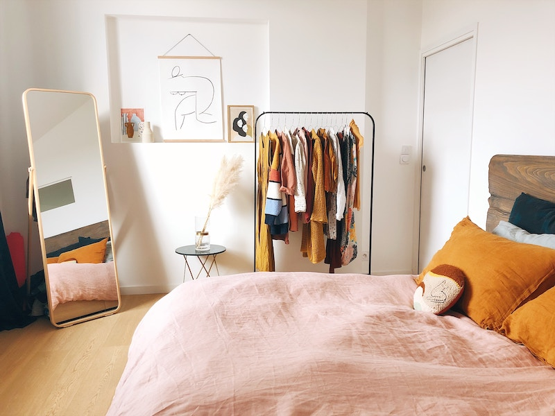 Minimalist bedroom in Toulouse, France | Declutter Your Life In 2020 - Get Rid Of What You Don't Need To Create The Life You Want | Bonnibelle Chukwuneta | Millennial Lifestyle By Design | Millennial Life | Adulting