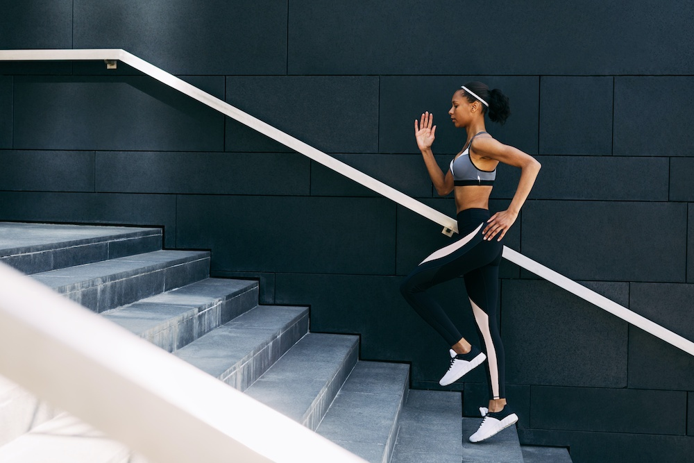 Do stair workouts. | Things you can do to stay fit and active at home | Bonnibelle Chukwuneta | Millennial Lifestyle By Design
