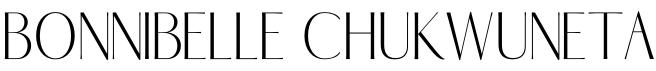 Bonnibelle Chukwuneta