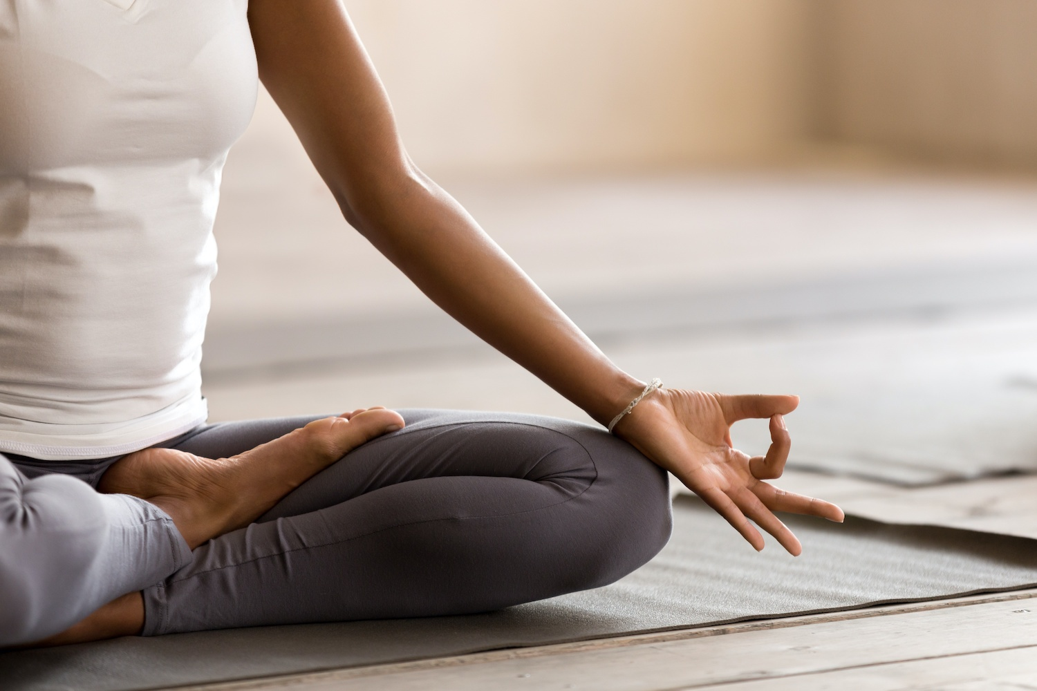 Begin a meditation practice.   8 easy new year's resolutions to commit to in 2021